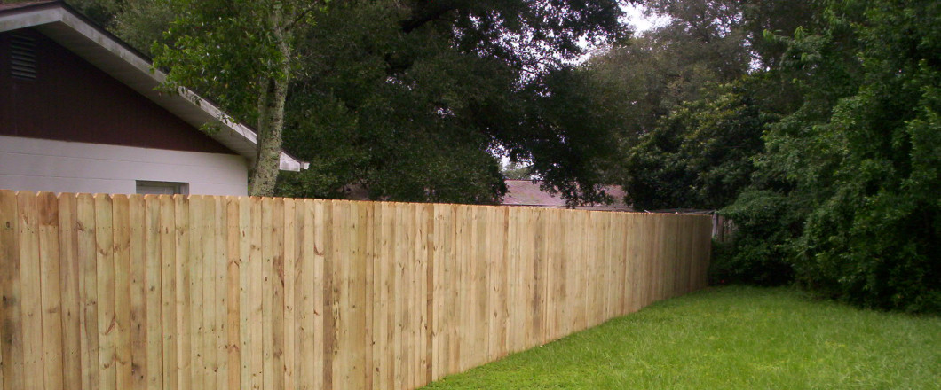 wood fence in Hudson, FL