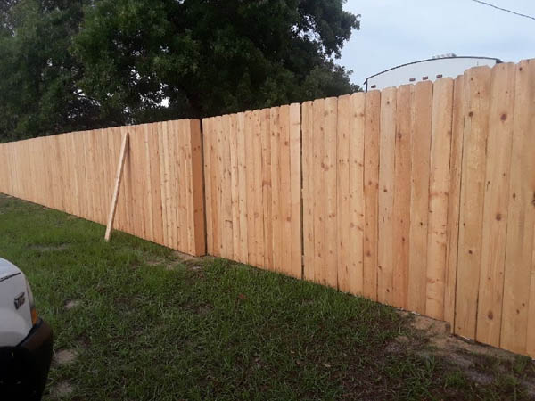 Wood Fencing Davis Fence Inc
